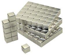 Neodymmagnete 5mm Quader 100Stk. Supermagnete Magnet Tafel Pinnwand Wandtafel