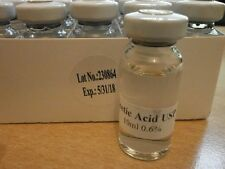 1 x 10ml Acetic Acid 0.6%. mix with hgh, igf-1. (Medical Grade, not 99%)