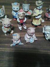 Sri lanka cat figurines collection 1993