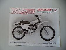 advertising Pubblicità 1978 MOTO MALAGUTI CAVALCONE HF 50 6M