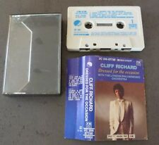 RARE CASSETTE K7 AUDIO TAPE CLIFF RICHARD DRESSED FOR THE OCCASION