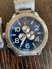 Authentic Nixon Watch Chrono Blue Sunray 51-30 A083-1258