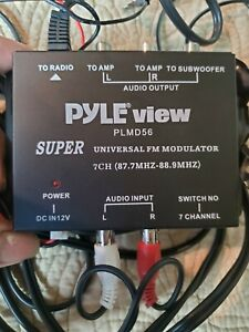 Pyle PLMD56  7Channel  Amplifier