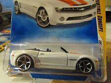 Hot Wheels Camaro Convertible Concept 2008 New Models White