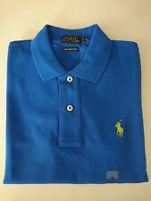 Ralph Lauren Women SKINNY Polo T-shirt Short Sleeve With Tags XS Blue