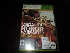 Medal of Honor: Warfighter  Limited Edition (Microsoft Xbox 360, 2012)COMPLETE
