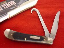Schrade Knives Old Timer 3-7/8 2 Blade Horse Pick Equestrian Jack Knife Mib ld