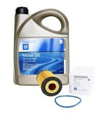 ORIGINAL GM OPEL Motoröl 5W30 5W-30 dexos2 LongLife 5 Liter + Ölfilter 55594651
