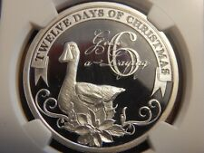 2010 $2 Niue 12 Days of Christmas - 6 Geese A Laying NGC PF69 UC