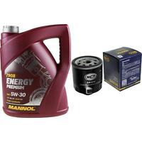 Ölwechsel Set 5L MANNOL Energy Premium 5W-30 + SCT Ölfilter Service 10164348