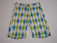 Golf Shorts Size 32 Light Royal Argyle Flow Golf