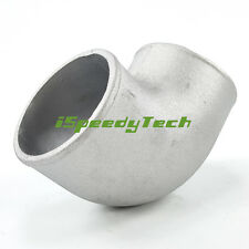 3.5 Inch Cast Elbow Pipe 90 Degree Aluminum Intercooler Turbo Tight Bend Coupler