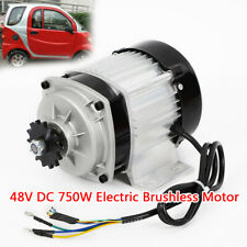 Electric Scooter Brushless Motor 48v Dc 750w With Controller For Diy Tricycle