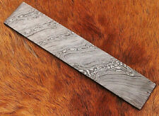 Hand Forged 30CM Damascus Steel Twisted Billet Craft, Tools Making Blank Bar