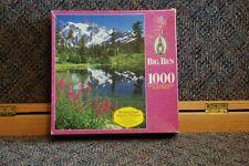 MB Big Ben Puzzle 1000 pieces Mount Shuckson, WA New in Box model 4962-23