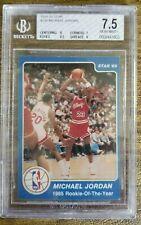 1984 Michael Jordan Rookie of the year Star #288 BGS 7.5 Near Mint Chicago Bulls