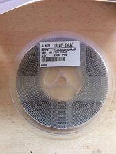 1 Mulinello 2000 SMT solido Condensatore al tantalio 10uF 4v 10% 3216-18 6 ohm caso un Z16