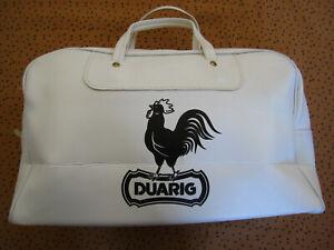 Sac à main DUARIG Sportsbag Bag Skai Sac 70'S Football vintage