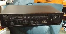 ONKYO P-3150V STEREO PREAMPLIFIER Works Good MADE IN JAPAN