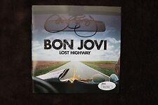 JON BON JOVI SIGNED AUTOGRAPHED LOST HIGHWAY CD BOOKLET JSA AUTHENTICATED