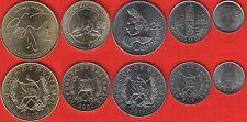 Guatemala set of 5 coins: 5 centavos - 1 quetzal 2007-2013 UNC