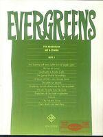 Evergreens für Akkordeon mit B-Stimme Heft 2