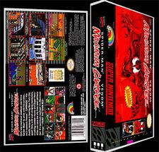 Spiderman Venom Maximum Carnage - SNES Reproduction Art Case/Box No Game.