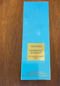 Tom Ford Women's Mandarino Di Amalfi All Over Body Spray 4oz/150ml Sealed New