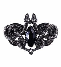 Restyle Snakes of Avalon Gothic Hair Clip Celtic Barrette Wiccan Occult Serpent