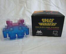 Space Invaders Mini Alien Vinyl Figure Purple Blue Limited Edition Loot Crate
