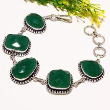 Emerald Gemstone Handmade Ethnic Fashion Jewelry Bracelet SB1549