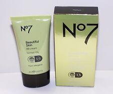 No7 Beautiful Skin BB Cream Normal/Oily Shade Medium 40ml **BNIB**