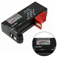 Universal Digital AA/AAA/C/D/9V/1.5V Button Cell Battery Volt Tester Checker
