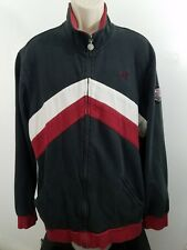 Quiksilver zip-up sweater XXL black red white 883