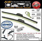 """2PC 22"""" & 16"""" Direct OE Replacement Premium ALL Weather Windshield Wiper Blades"""