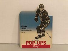 2012-13 O-Pee-Chee Pop Ups #PU-46 Daniel Sedin Vancouver Canucks Hockey Card NHL
