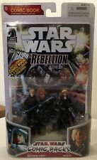 Star Wars comic packs rebellion Luke skywalker Deena Shan the legacy collection