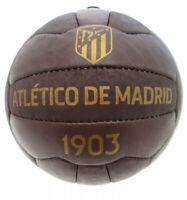 Pallone Atletico Madrid Ufficiale Misura 5 Vintage effetto antico 1903 calcio