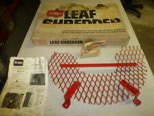 "NOS! TORO LEAF SHREDDER KIT #59105, for 21"" LAWN MOWER REAR BAGGER"
