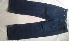 """Para Hombre Urban Republic Jeans De Pierna Recta Azul Oscuro Talla 36"""" Cintura 31"""" pierna"""