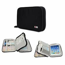 Travel Universal Electronics Accessories Organizer - Double Gadg  (Double-Black)