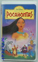 "WALT DISNEY MASTERPIECE COLLECTION ""POCAHONTAS"" (VHS 5741)1996"
