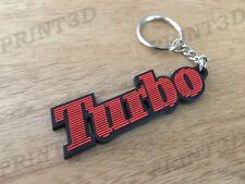 Porte clés / Keychain PVC souple Renault 5 Alpine A5 Turbo logo rouge/noir