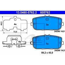 ORIGINAL ATE Bremsbelagsatz Bremsbeläge hinten Mazda MX-5 Bj.05-