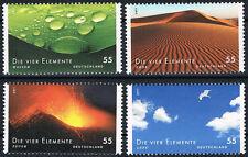 2852 - 2855 ** BRD 2011, Serie Post. Die vier Elemente