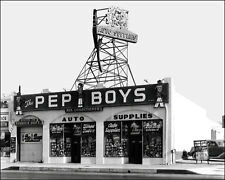 1936 Pep Boys Store Photo 8X10 - Buy Any 2 Get 1 Free
