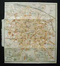 Antica Mappa =Topografica= BOLOGNA =Scala1:11000 -1907c