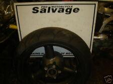SUZUKI GSXR 750 SRAD 1996 1997 carb: roue-pneu arrière (n): utilisé des pièces de motos