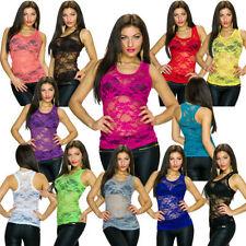 Camisas y tops de mujer de poliéster sin mangas talla 36