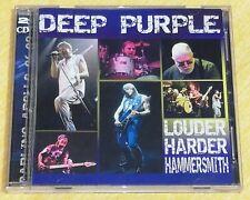 "DEEP PURPLE  Ultra-Rare Double CD ""LOUDER HARDER HAMMERSMITH""  SUPERB ITEM !!!"